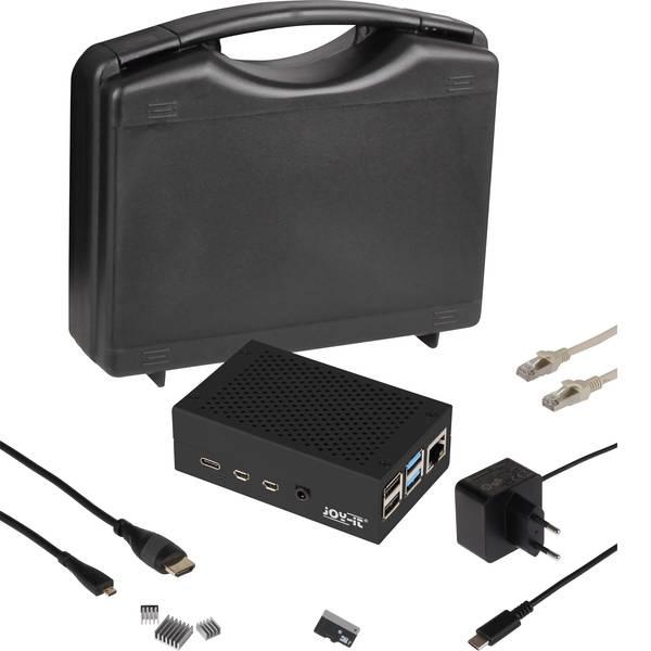 Schede di sviluppo e Single Board Computer - Advanced Set incl. cavo di alimentazione, incl. dissipatore, incl. cavo HDMI, incl. Noobs OS Joy-it -
