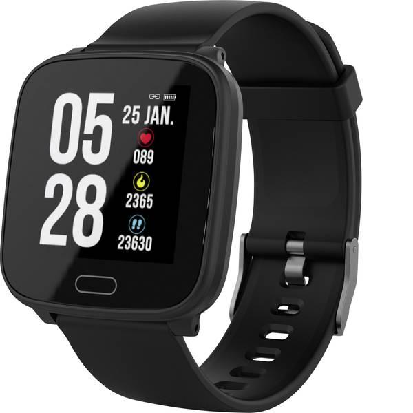 Dispositivi indossabili - swisstone SW 610 HR Fitness Tracker Nero -