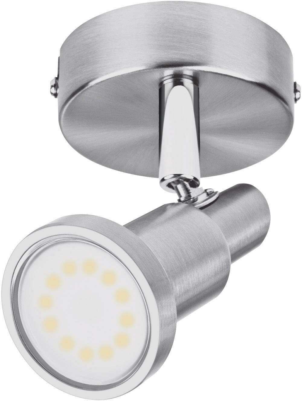 Faretti E Spot Da Soffitto ledvance led spot (eu) l 4058075260801 faretto da soffitto led (monocolore)  gu10 3 w nickel (spazzolato)