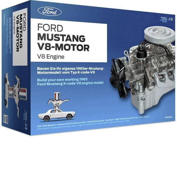 Kit retrò da costruire - Franzis Verlag Ford Mustang V8-Motor Kit da costruire da 14 anni -