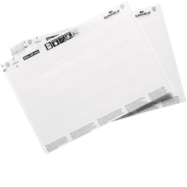 Etichette per cestini - inserti (L x A) 200 mm x 20 mm 100 pz. -