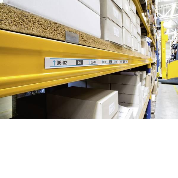 Etichette per cestini - guida porta indicazioni (L x L) 1 m x 30 mm 25 pz. -