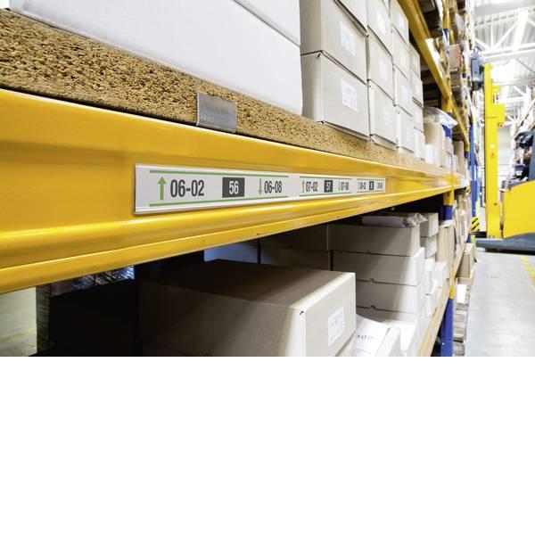Etichette per cestini - guida porta indicazioni (L x L) 1 m x 40 mm 25 pz. -