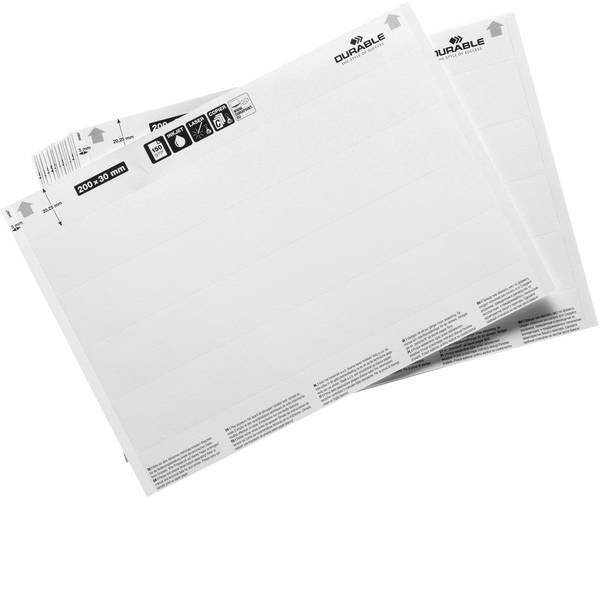 Etichette per cestini - inserti (L x A) 200 mm x 30 mm 20 pz. -