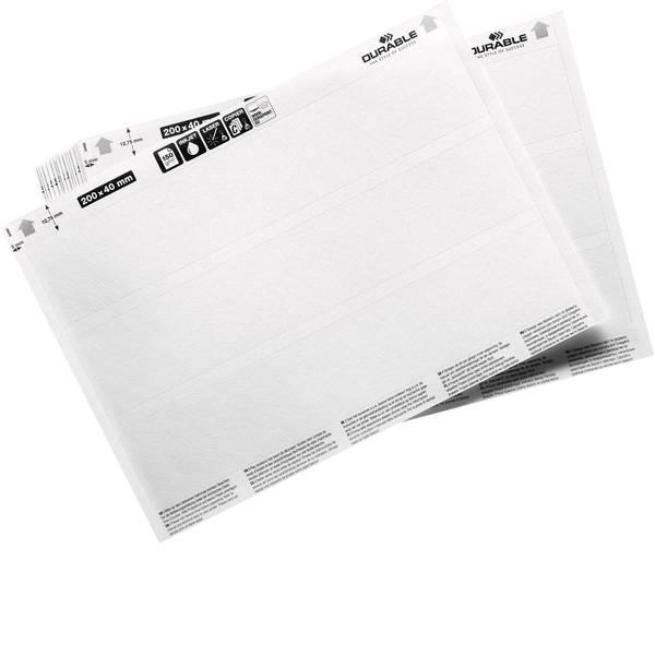 Etichette per cestini - inserti (L x A) 200 mm x 40 mm 20 pz. -