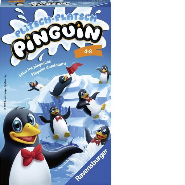 Giochi di società e per famiglie - Ravensburger Plitsch Platsch Pinguin 23461 -