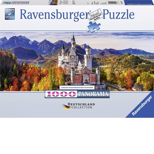 Puzzle - Ravensburger Schloss in Bayern 15161 -