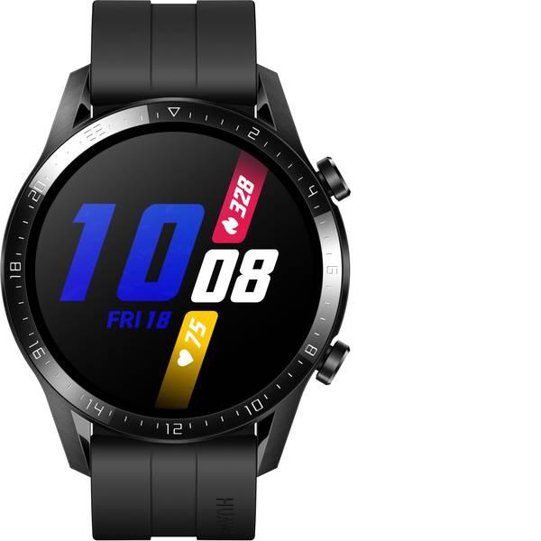 Dispositivi indossabili - HUAWEI Watch GT 2 (46 mm) Smartwatch L Nero (opaco) -