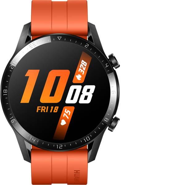 Dispositivi indossabili - HUAWEI Watch GT 2 (46 mm) Smartwatch L Arancione -