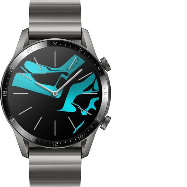 Dispositivi indossabili - HUAWEI Watch GT 2 (46 mm) Smartwatch L Grigio titanio -
