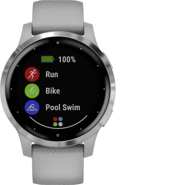 Dispositivi indossabili - Garmin vivoactive 4 Small Powder Gray/Stainless Smartwatch Grigio -