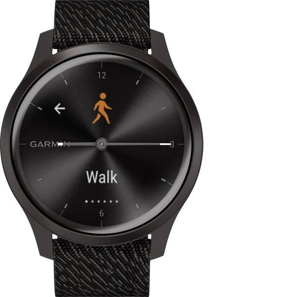 Dispositivi indossabili - Garmin vivomove Style Gunmetal-Dark Gray, Fabric Smartwatch Nero -