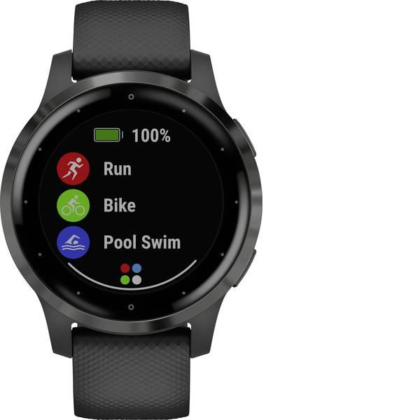 Dispositivi indossabili - Garmin vivoactive 4 Small Black/Gunmetal Smartwatch Nero -