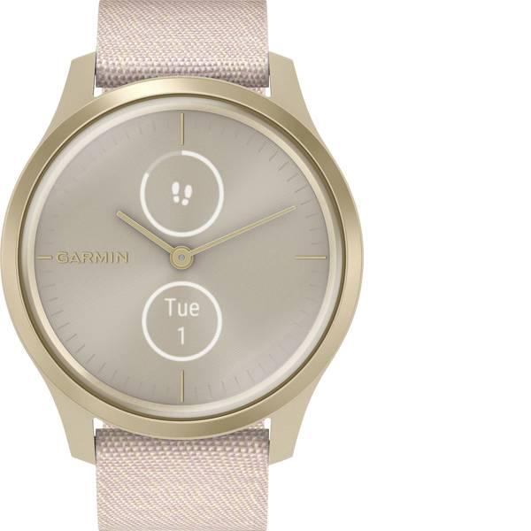 Dispositivi indossabili - Garmin vivomove Style Champagne-Dust Rose, Fabric Smartwatch Rosa -