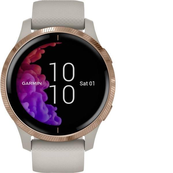 Dispositivi indossabili - Garmin VENU Light Sand/Rose Gold Smartwatch Sabbia -