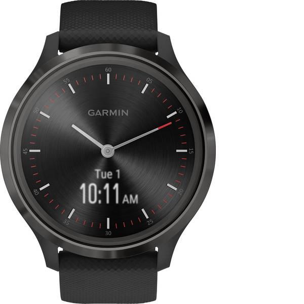 Dispositivi indossabili - Garmin vivomove 3 Sport Black-Gunmetal, Silicone Smartwatch Nero -