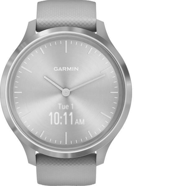 Dispositivi indossabili - Garmin vivomove 3 Sport Grey-Sliver, Silicone Smartwatch Grigio chiaro -