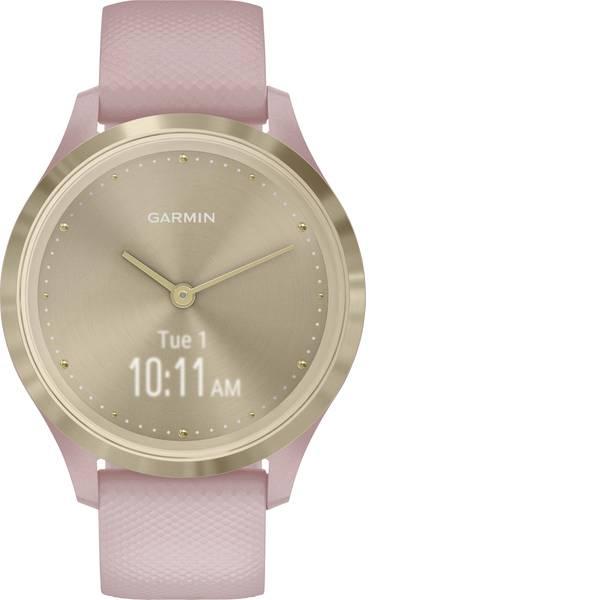 Dispositivi indossabili - Garmin vivomove 3S Sport Champagne-Rose, Silicone Smartwatch Rosa -