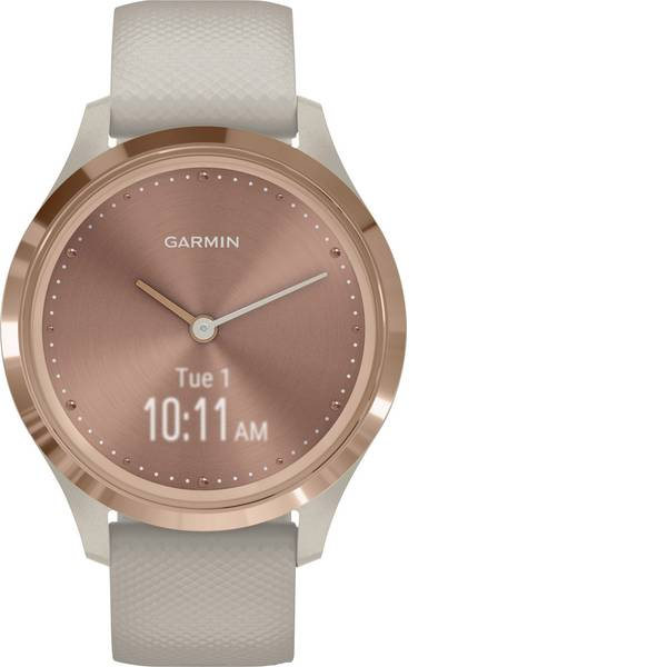 Dispositivi indossabili - Garmin vivomove 3S Sport Rose-Tundra, Silicone Smartwatch Beige -