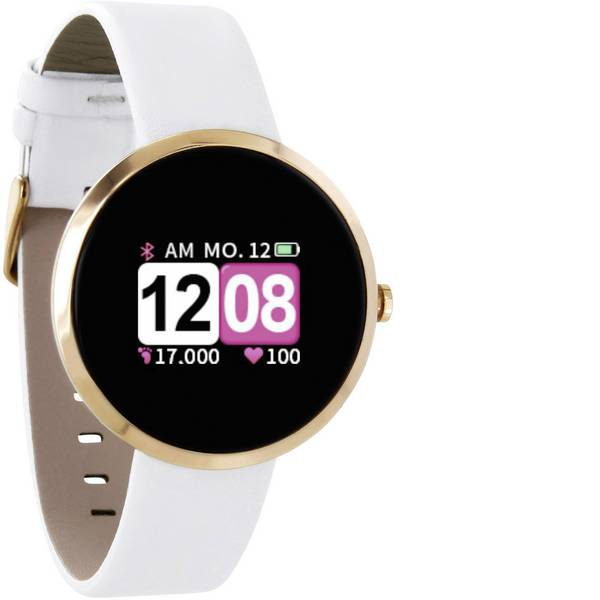 Dispositivi indossabili - X-WATCH Siona Color Fit Smartwatch Bianco -
