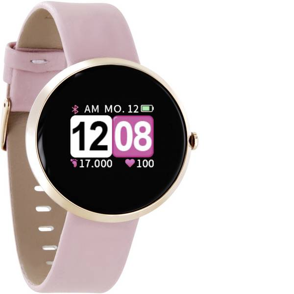 Dispositivi indossabili - X-WATCH Siona Color Fit Smartwatch Rosa -