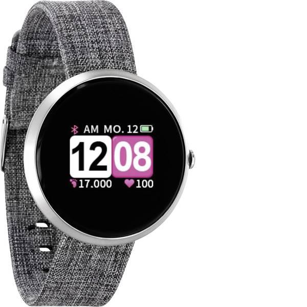 Dispositivi indossabili - X-WATCH Siona Color Fit Smartwatch Grigio -