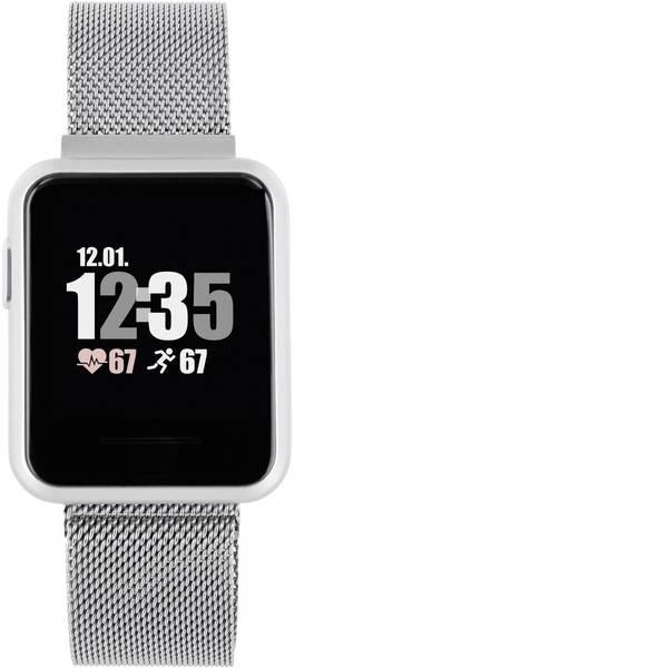Dispositivi indossabili - X-WATCH Keto Sun Reflect Smartwatch Argento -