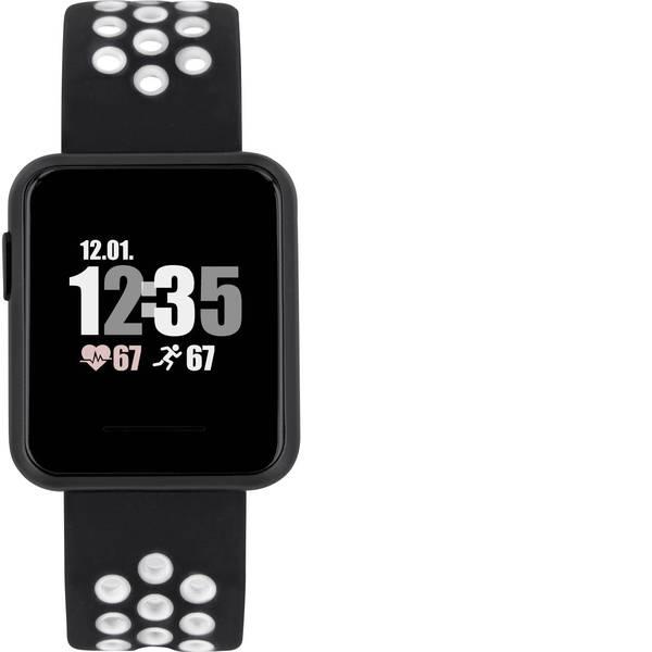 Dispositivi indossabili - X-WATCH Keto Sun Reflect Smartwatch Nero -