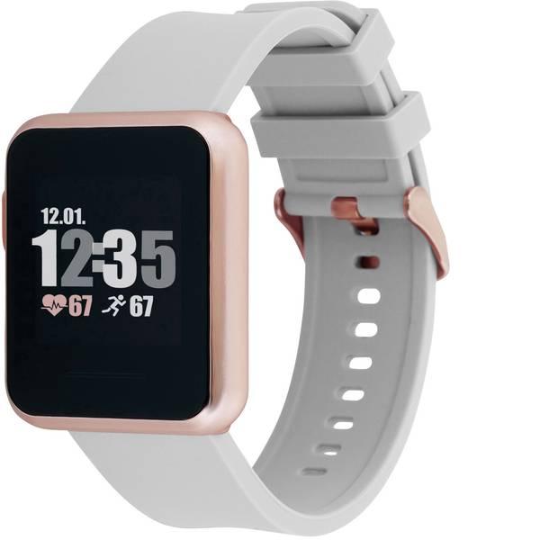 Dispositivi indossabili - X-WATCH Keto Sun Reflect Smartwatch Grigio -