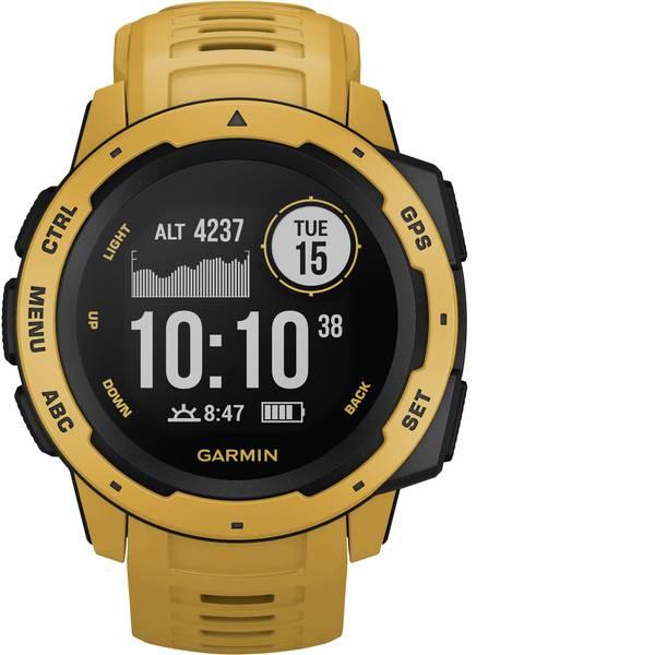 Dispositivi indossabili - Garmin INSTINCT Gelb/Schwarz Orologio sportivo con GPS Giallo -