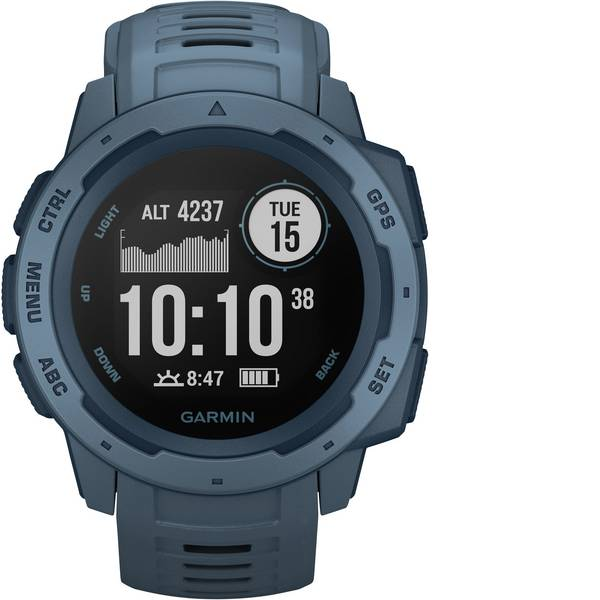 Dispositivi indossabili - Garmin INSTINCT Blau/Dunkelblau Orologio sportivo con GPS Blu -
