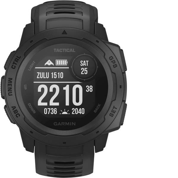Dispositivi indossabili - Garmin INSTINCT TACTICAL Schwarz Orologio sportivo con GPS Nero -