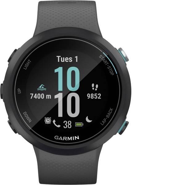 Dispositivi indossabili - Garmin SWIM 2 Schiefergrau/Schwarz Smartwatch Grigio Ardesia -