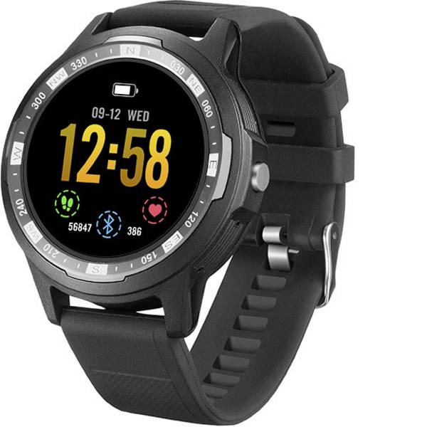 Dispositivi indossabili - Technaxx TX-SW3HR Smartwatch Uni Nero -