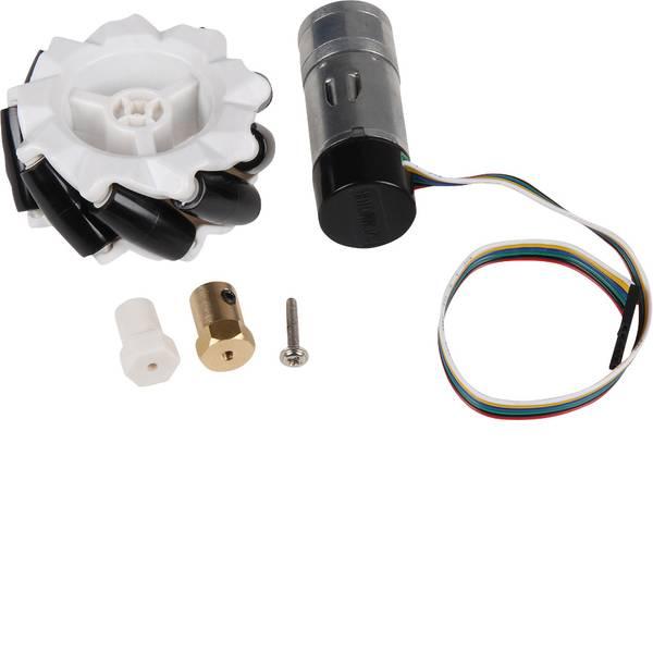 Kit accessori per robot - Joy-it Kit ruote per robot Omni Wheels Kit -