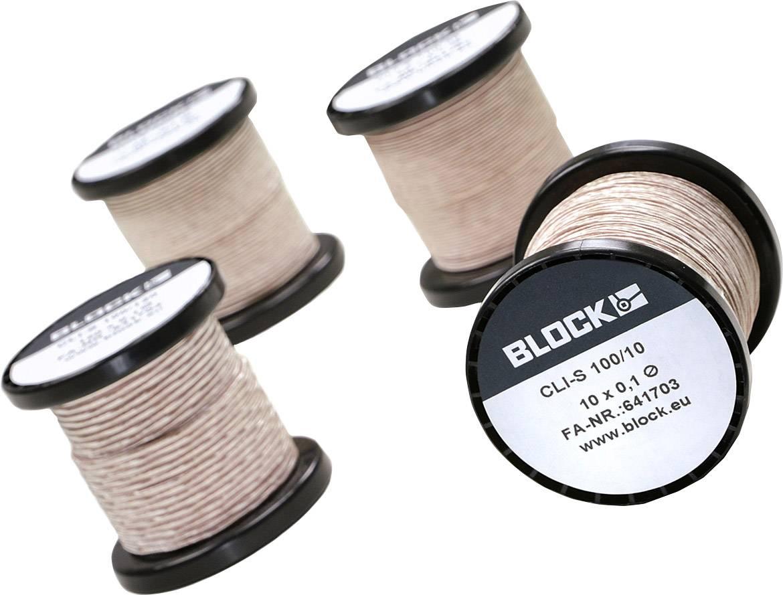 Tru components filo di rame smaltato diametro con isolante0.30 mm 50 m