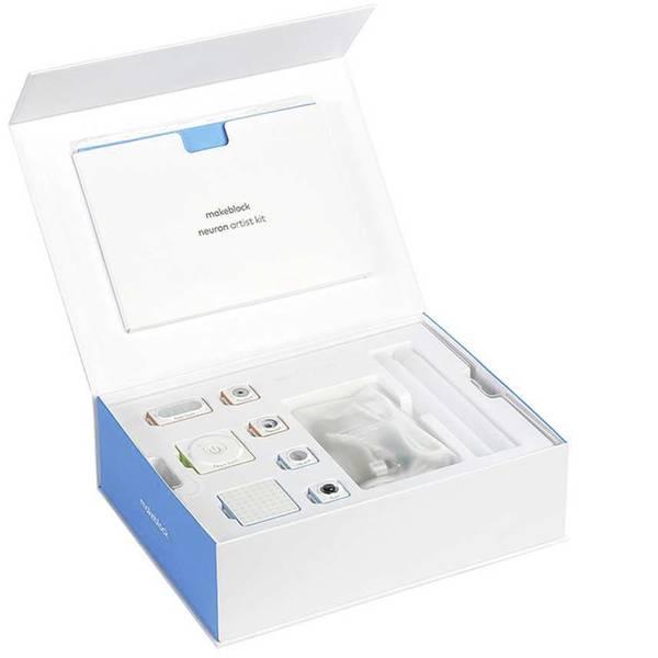 Kit esperimenti e pacchetti di apprendimento - Makeblock mb_P1030049 Neuron MINT Artist Kit da costruire da 6 anni -