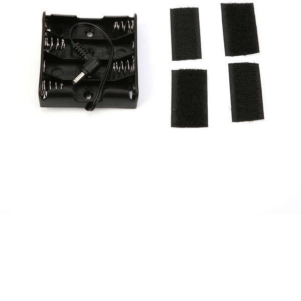 Kit accessori per robot - Makeblock Supporto batteria 4 AA Holder mit DC-Stecker -