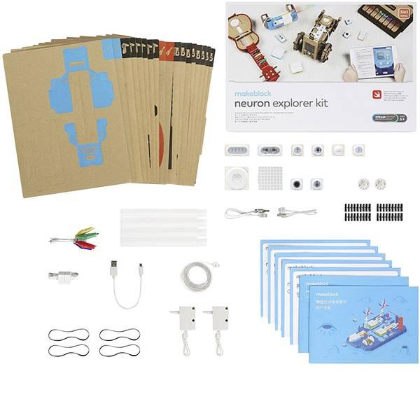 Kit esperimenti e pacchetti di apprendimento - Makeblock mb_P1030036 Neuron MINT Explorer Kit da costruire da 6 anni -