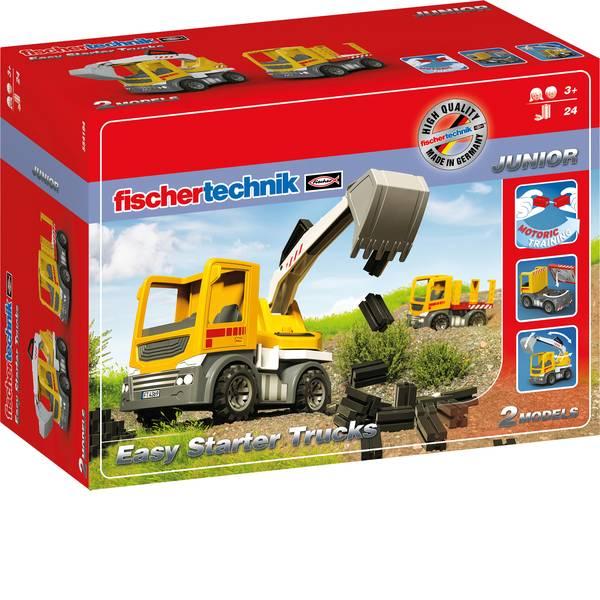 Kit esperimenti e pacchetti di apprendimento - fischertechnik 554194 Easy Starter Trucks - Spielzeugbagger Kit esperimenti da 3 anni -