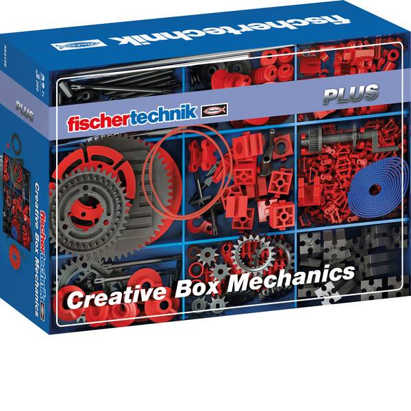 Kit esperimenti e pacchetti di apprendimento - fischertechnik 554196 Creative Box Mechanics Kit esperimenti da 7 anni -