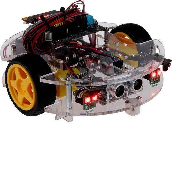 Robot in kit di montaggio - Joy-it Robot in kit da montare Micro:Bit JoyCar KIT da costruire -