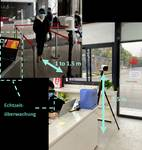 LAN IP-Camera Bullet 2688 x 1520 Pixel HIKVISION DS-2TD2617B-3/PA (B) Ambiente interno