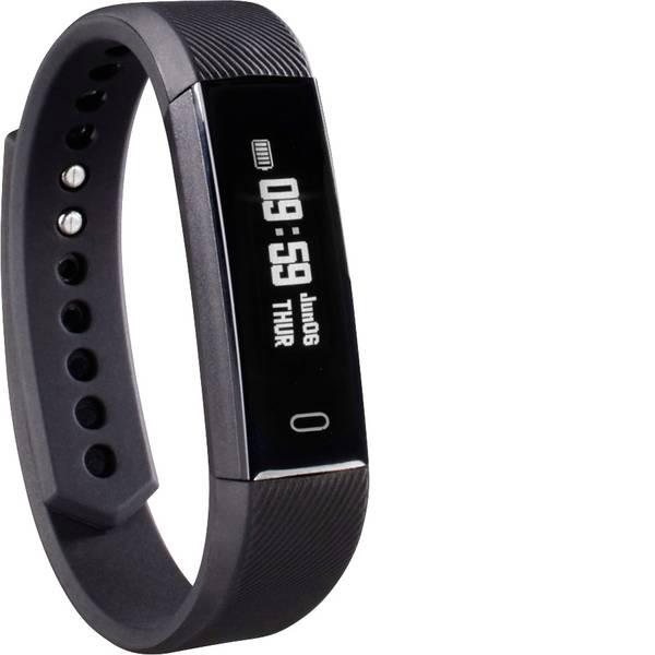 Dispositivi indossabili - Hama Fit Track 1900 Fitness Tracker con funzione pulsazioni Nero -