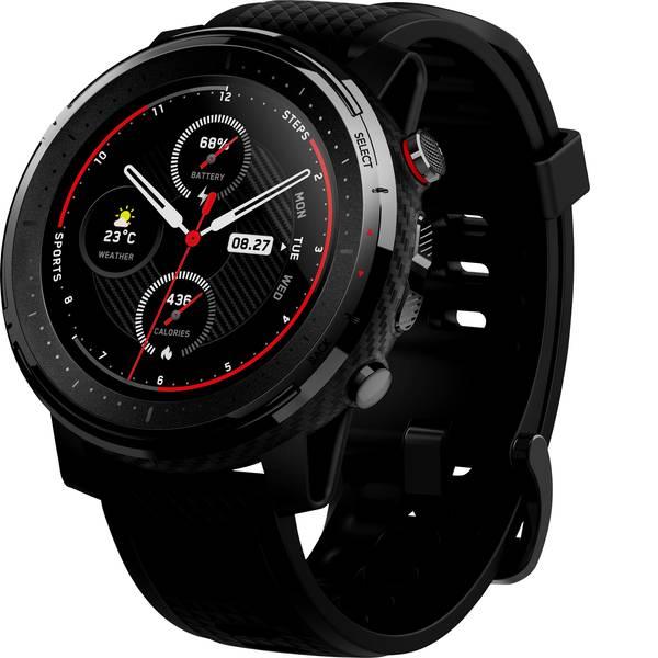 Dispositivi indossabili - Amazfit Stratos 3 Orologio sportivo con GPS Nero -