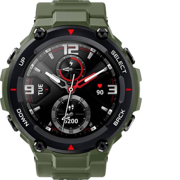 Dispositivi indossabili - Amazfit T-Rex Orologio sportivo con GPS Verde scuro opaco -