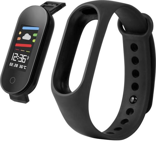 Dispositivi indossabili - Technaxx TX-HR6 Fitness Tracker Uni Nero -