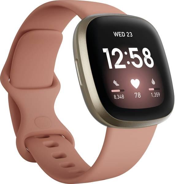 Dispositivi indossabili - FitBit Versa 3 Smartwatch Uni Rosa -