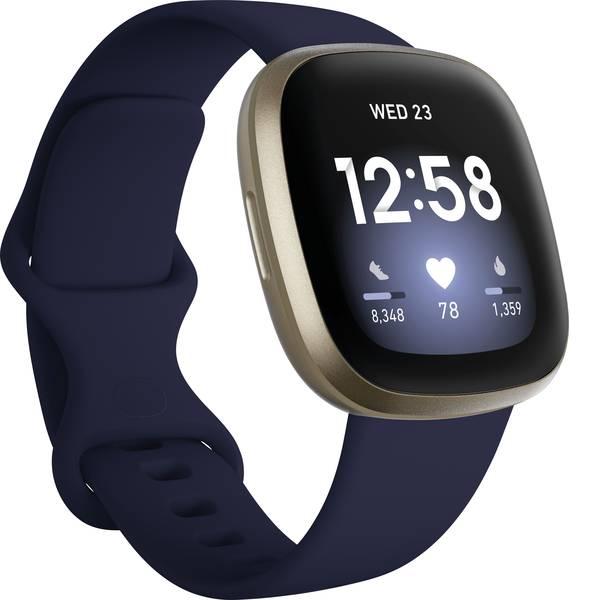 Dispositivi indossabili - FitBit Versa 3 Smartwatch Uni Nero -