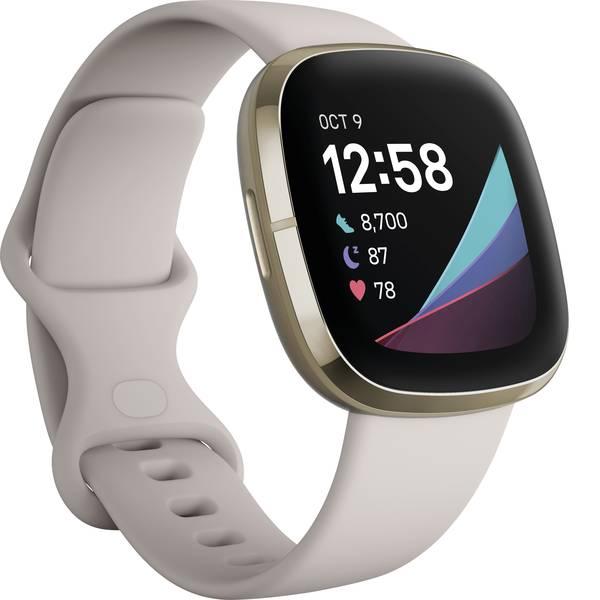 Dispositivi indossabili - FitBit Sense Smartwatch Uni Bianco -